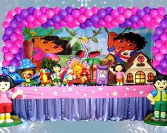 Decora��o infantil Dora aventureira