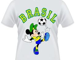 Camiseta Minnie Brasil