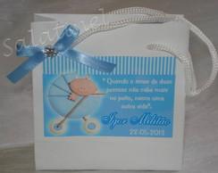Sacola personalizada beb� carrinho, M