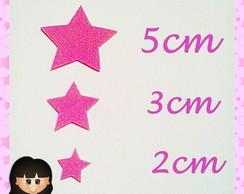 Aplique Estrelas P.M.G  (30 Unidades)