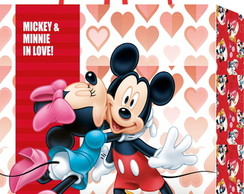 10 Sacolas Mickey e Minnie in Love M