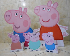 Display impress�o digital Peppa Pig