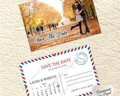 Save The Date Postal Personalizado