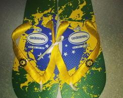 Chinelos customizados  Havaianas Brasil