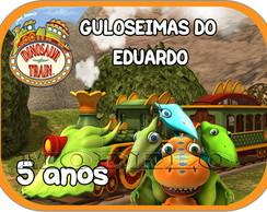 Adesivo Marmitinha 12x9 - Dino Trem