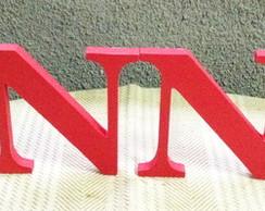 Letras pra mesa em 3D, 15 cm