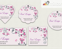 Kit Tags - Etiquetas Com Design Mod100