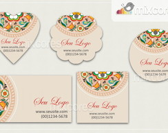 Kit Tags - Etiquetas Com Design Mod102