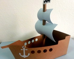 Centro de Mesa Navio Pirata - Jake