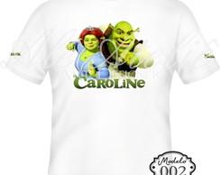 Camiseta Personalizada Shrek