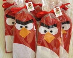 Estojo feltro Angry Birds
