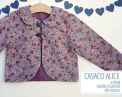 Casaco Alice - moldes e tutorial
