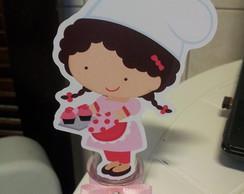 Tubete Personalizado Menina Cupcake