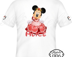 Camiseta Personalizada Minnie Mouse