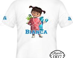 Camiseta Personalizada Monstros SA