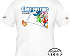 Camiseta Personalizada Club Penguin