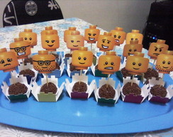 Festa impressa Aventura Lego