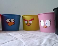 Balde de pipoca Angry birds