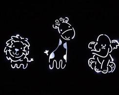 Painel safari com LED