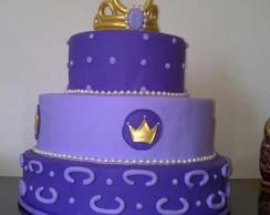Bolo Decorativo Princesa