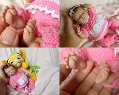 Mini beb� reborn Luiza 2014. ADOTADA!!!