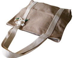 Bolsa Sacola Eco Bag Algod�o Natural Col