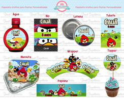 Kit Festa Digital Angry Birds