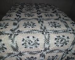 colcha em croch�