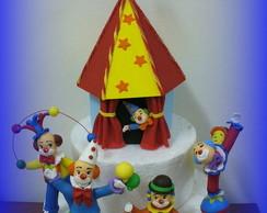 Topo de bolo - Circo