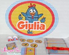 Kit Impresso Galinha Pintadinha