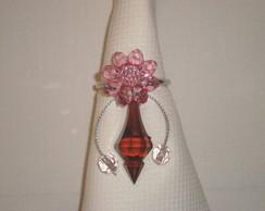 Porta guardanapo rosa/marrom