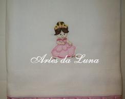 Fralda Toalha Bordada