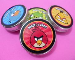 R�tulo Latinha Angry Birds