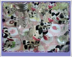 garrafinha pet decorada vaquinha