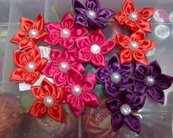 Kit Fuxico com 50 flores