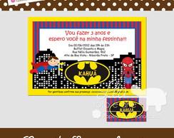 Convite Super-her�is