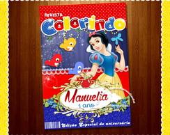 Capa Revista Colorir Minnie - Arte