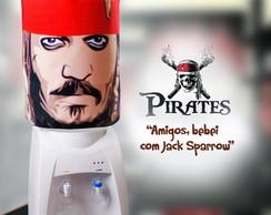 Capa para gal�o de �gua - Pirates