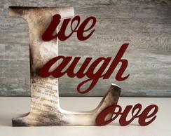 Letras Decorativas-Live, Laugh,Love