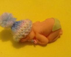 Beb� rec�m nascido em biscuit