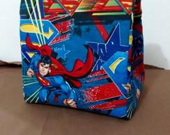 Lunch bag saquinho super homem