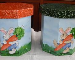 Caixas porta ovos de P�scoa
