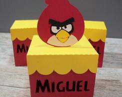 Caixinha personalizada Angry Birds - M