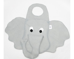 Lixeira de carro - elefante plastificado