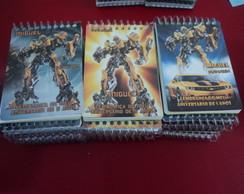 Bloquinho Transformers Bumblebee EI