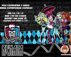 Convite Monster High