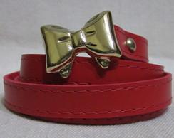 Cinto Feminino 12mm Vermelho (G)