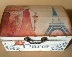 Ba� Paris com Decoupage