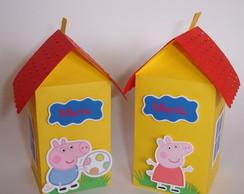 Caixinha Casinha da Peppa Pig
