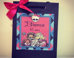 Sacola Personalizada Monster High